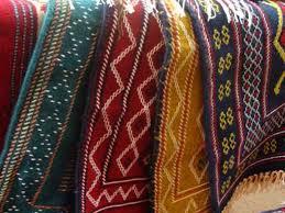 پارچه بافی متقال سنتی مازندران